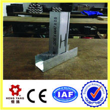 metal building materials price/galvanized steel stud price
