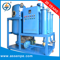 Double stage high vacuum transformer oil purifier system machine series ZYD