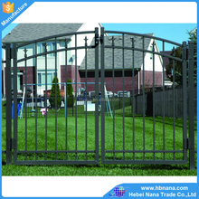 High quality cheap decorative metal garden gate / Metal sliding gate for sale