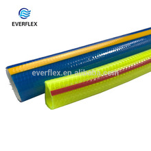 Custom reinforced abrasion resistant Knitted water conveying plastic 100 hose pipe by foot