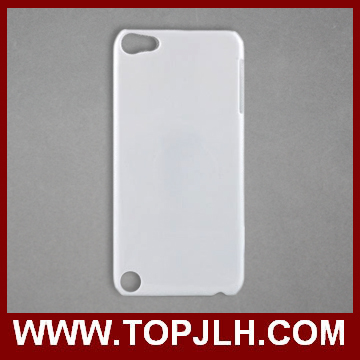 For Ipod touch 5 Plastic Case,with Sublimation Metal Insert