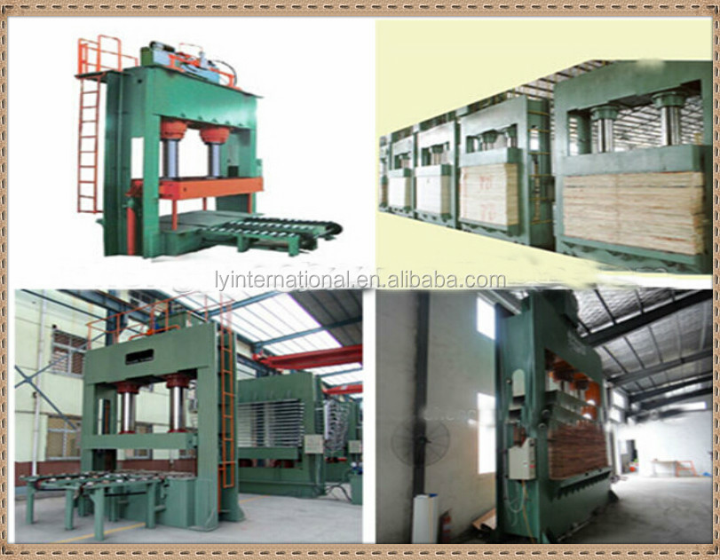 Strong power and Excellent quality plywood prepress machine/cold press machine/mdf board making machine