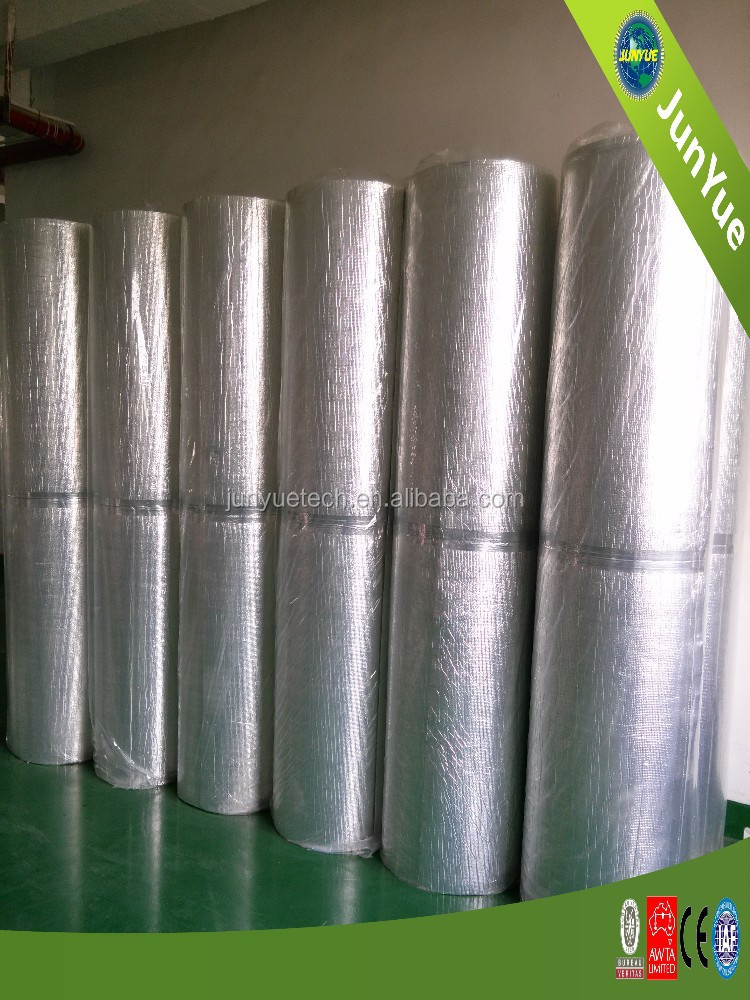 Hot reflective aluminum foil roofing insulation