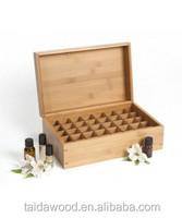 wooden essential oil box/case