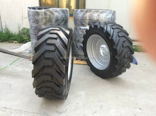 Industrial foam filled tire 445/65D22.5 boom lift tyre for genie S125