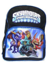 "Skylanders Spyro's Adventyre 16"" 3D Backpack for Students"