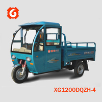 2015 hot sale closed battery- powered cabin tricycle/200cc electric/electrical passenger tricycle/motorized 3 wheel car