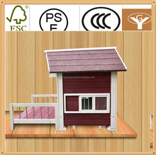 competitive price wooden pet house dog kennels