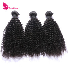 Wholesale kinky curly 100% cuticle aligned hair