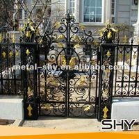Alibaba China Trade Assurance All Kinds of Iron Gate Grill Design