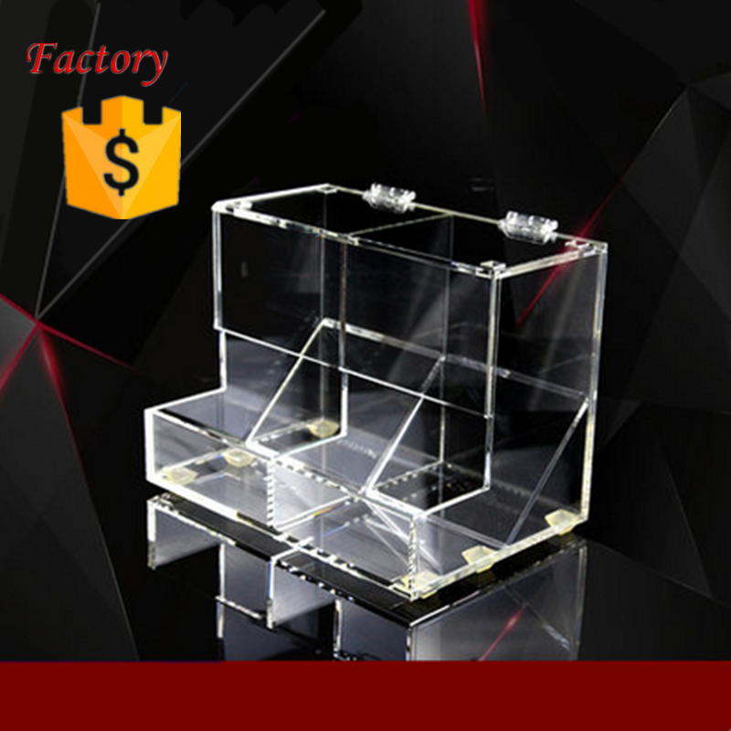 Clear Acrylic Candy/Cereal Dispenser/ Store Acrylic Candy Box