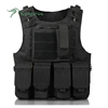 Heavy Duty Nylon Detachable Special Forces Military Body Armor Ballistic Plates Bullet-proof Combat Vest