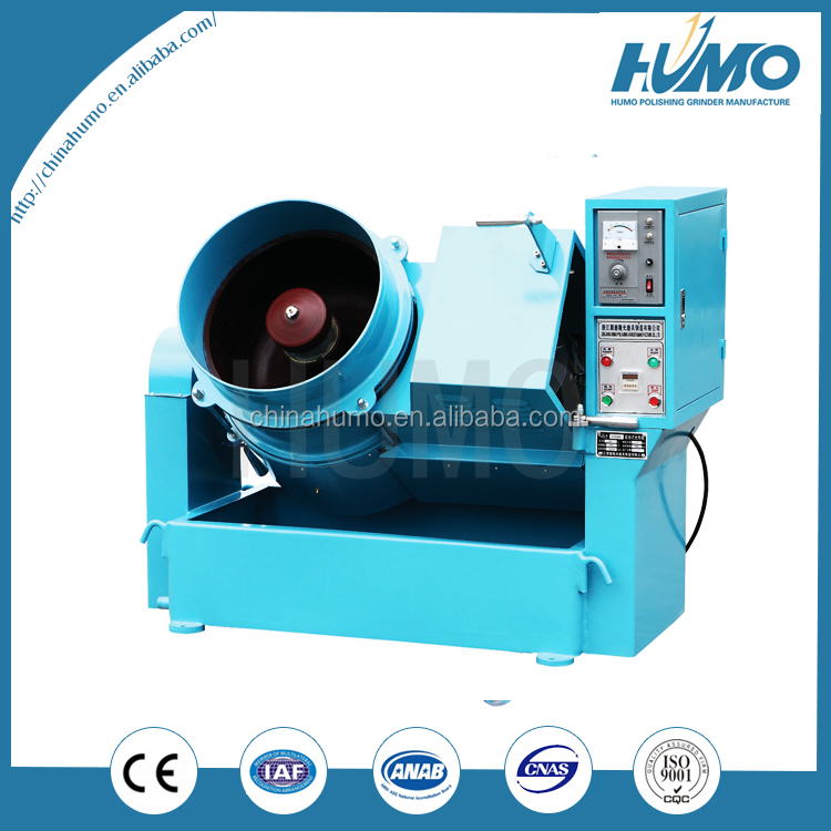 semi-automatic semiconductor rubber seal ring deburring glass beads portable glass edge grinding and polishing machine
