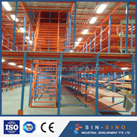 Suzhou quality rack Storage mezzanine floor/metal platform/racking/floor system