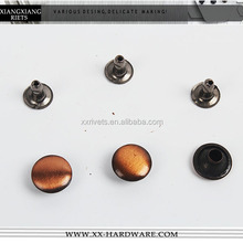 high quality brushed antique dome rivet for shoes/bags/leather