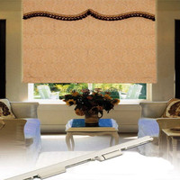 Bintronic Home Decorating Motorized Roman Blinds Motorized Curtain Poles Tracks and Accessories