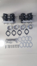 FAJS DCOE throttle bodies and TPS and air horn and linkage and base gasket