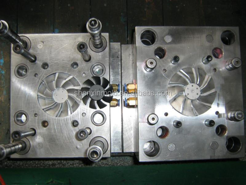 fan blade injection mould for pumps