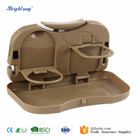 Auto Drink Food Cup Tray Car Back Seat folding table Holder Stand Desk