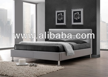 Bedroom Furniture / Faux Leather PU Bed ( Feenix Bed)