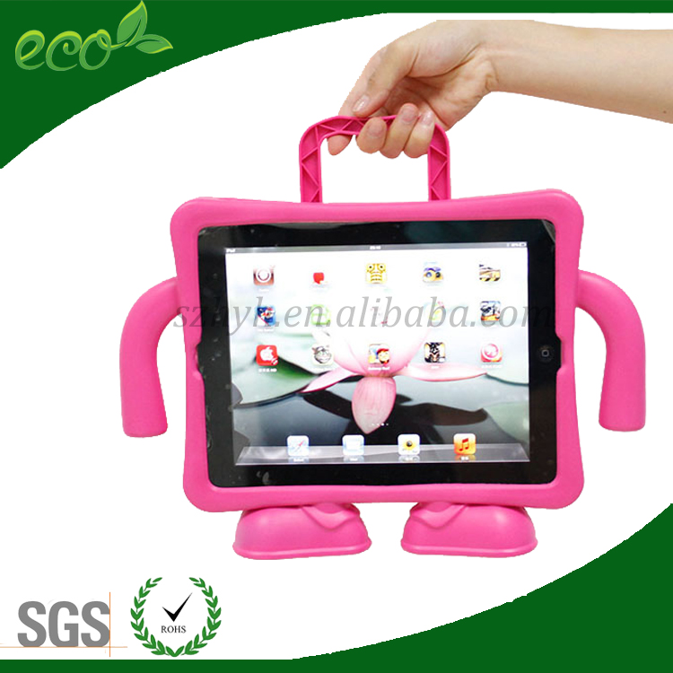 OEM fancy eco friendly universal factory price rubber tablet pc case EVA tablet pc cover for ipad 2 ipad 3 ipad 4
