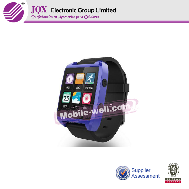2014 fashion style smart android watch mobile