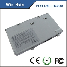 6 cell Replacement laptop battery for DELL Latitude D400 series