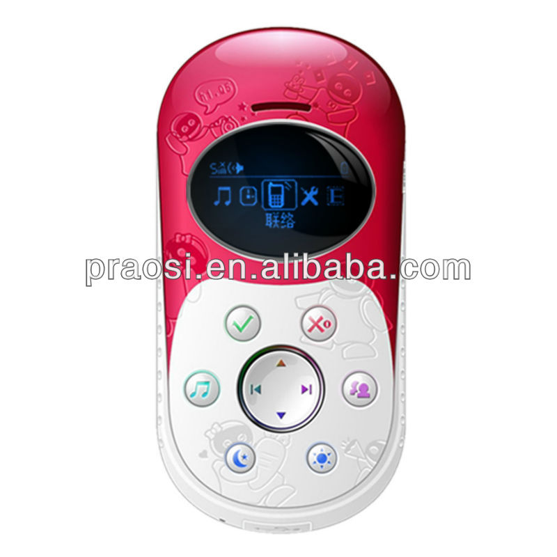 cell phone with gps tracker Q5 for children with sos button/family number/long life battery