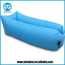 New arrival Inflatable Lounger Portable Waterproof Air Filled Balloon Air Bag, Nylon Fabric Bean Bag, Air Sleeping Sofa Couch