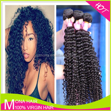 Specialized Virgin Mongolian Kinky Curly Hair Extension for Black Women