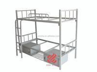 hightquality With two drawers School student steel bed
