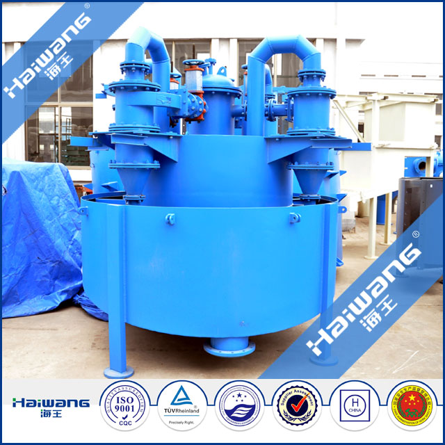 Haiwang Small Scale Gold Mining Equipment Sand Cyclone