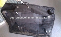 non woven and PVC blanket bag with inner pocket