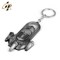 New Premium Custom Zinc Alloy Airship Metal Bottle Opener Key Chain with Logo