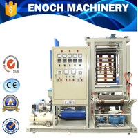 Mini Plastic Processing Machinery Pe Film Blowing Machine,Lab Film Extruder