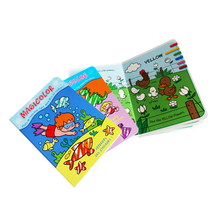 Wholesale Baby Book Printing Fancy Kids Educational Activity Board Book Magic Water Coloring Book Printing