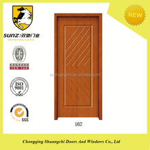 Classical China Solid Wooden Oak Finished Timber Office Door