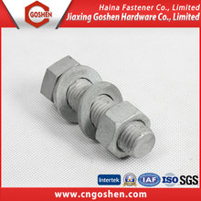 Din 7990 grade10.9 heavy hex bolt and nuts and washers