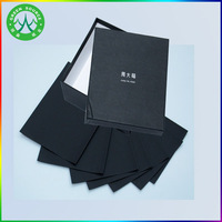 Environment Friendly one side coated black paper board for shoe box