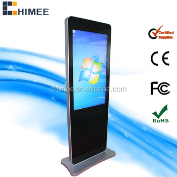 47inch lcd touch screen monitor computer advertising machine