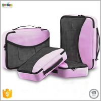 Justop 4pcs Set Packing Cubes For