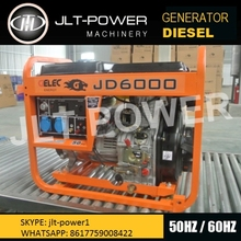 3kw and 5kw Diesel Generator with AVR /Diesel Silent Generator Set /186FA Diesel Engine for Home Use