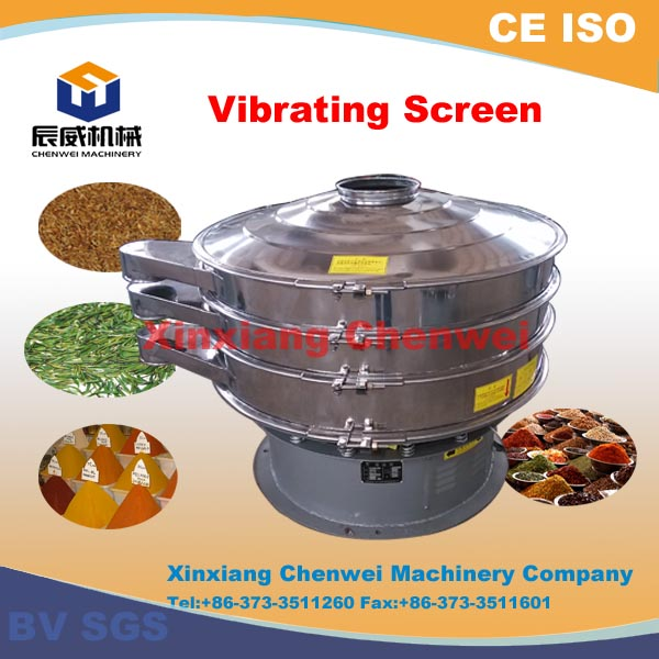 CE,BV,ISO approved!!! high efficiency xxsx hot vibrating screen in china