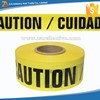 Custom Print Non Adhesive Barrier Tape for Caution