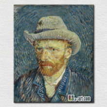 Popular famous pictures Van Gogh reproduction Self-portraits oil painting