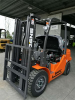 duel fuel forklifts 3.5t LPG counterbalance forklift trucks