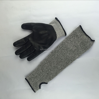 cheap HPPE cut and chemical resistant gloves/3m cut resistant gloves/meat cutting gloves