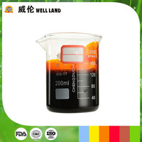Green and safety natural extract orange yellow compound food grade coloring liquid
