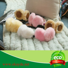 100% Sheep Wool Cheaper earmuffs Best Selling winter warm ear muff