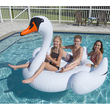 High Quality Original Design giant white swan pool float inflatable